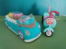 2 Barbie Kelly Sweetsville Ice Cream Cruisers