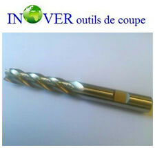 12mm HSSCO8 Endmill Long Serie H30° with 4 Flutes DIN844