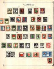 Kenr2: Switzerland BoB Collection from 1840-1940 Scott Intern Bound Album