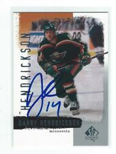Darby Hendrickson Signed 2000/01 SP Authentic Card #44