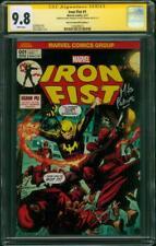 Iron Fist 1 CGC 2X SS 9.8 Perkins Stegman Hall of Comics C Ed Deadpool Variant
