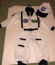 Get Real Gear- Dress-up for kids- Nasa Space Suit Costume & Hat - 18 Months