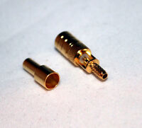 SMB Female solder crimp RG174 RG179 RG316 Cable Connector; US Stock; fast ship