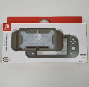 Nintendo Switch Lite Hybrid System Armor Protective Case Cover Gray Grey Hori