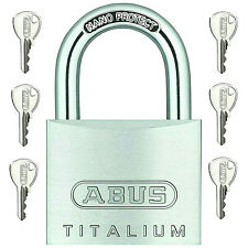 ABUS Vorhangschloss Titalium 64TI Vorhängeschloss  verschiedenschließend