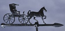 "Whitehall Horse & Buggy Country Doctor 24"" Accent Weathervane with Mount No Rust"
