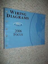 2006 FORD FOCUS EVTM Service Workshop Shop Repair Manual Wiring Diagrams 06