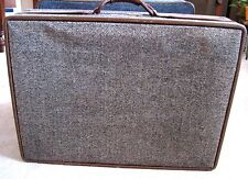 "HARTMANN Brown Tweed Collection Suitcase Luggage  26""x19 1/2""x 8"""
