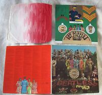THE BEATLES *SGT PEPPERS..* LP STEREO UK 1ST PRESS! WIDE SPINE!