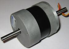 Kollmorgen Stepper Motor 375 V Pjt55 Dual 6 Mm Shaft 25 Deg Step