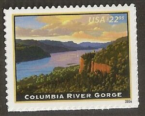 US 5041 Express Mail Columbia River Gorge single MNH 2016