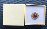 Killed In Action GOLD STAR MOTHERS US Military Lapel Pin in Original Box