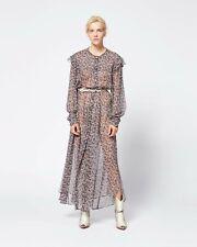 Isabel Marant ELLIE Silk long dress FR34