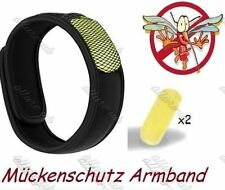Mückenschutz x2 Armband 4 Wirkstoff Pellets mucken Anti Mosquito Band