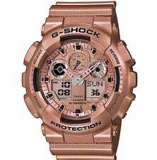 Casio G-Shock Rose Gold Classic Series GA100GD-9A Men's Watch GA-100GD-9 New