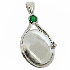 7g Solid 925 Sterling Silver Agate Locket H2O Just Add Water Mermaids Pendant