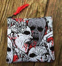 Zombie Handmade Fidget Spinner Holder / Coin / Change Purse / CC Wallet