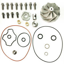 Powerstroke 7.3L 7.3 GTP38 TP38 Turbo Billet Compressor Wheel + Rebuild Kit