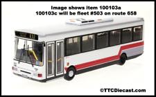 BUS BY BONO 100103C Dennis Dart Northern Counties Paladin (KCRC? No Branding)