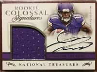 2016 National Treasures Colossal LAQUON TREADWELL Autograph RC Jersey Patch /99