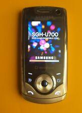 SAMSUNG SGH-U700 V ULTRA EDITION II SILVER  Vintage Collezione  sgh u700v
