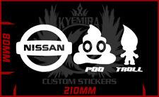 Nissan Patrol pootroll pootrol sticker choose your colour