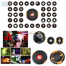58mm Bokeh Effect Lens Cap Cover Filter for Artistic Romantic Scene Photography