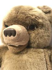 "Giggling LITTLE BEAR Plush Maurice Sendak Kidpower 1998 Appox 15"""