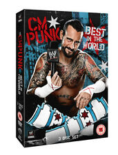 WWE: CM Punk - Best in the World DVD (2013) CM Punk cert 15 3 discs ***NEW***