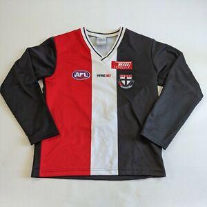 St Kilda Saints Long Sleeve 2006 Guernsey Size 16 AFL Piping Hot Jumper Jersey