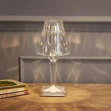 Kartell 09140B4 Lampada da Tavolo in Cristallo - Trasparente