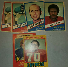 1974 1975 1976 WONDER BREAD ALL-STAR FOOTBALL CARDS YOU PICK UPDATE 9/28/20