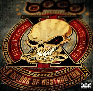 Five Finger Death Punch - A Decade Of Destruction (2017), Heavy Metal, Nu Metal