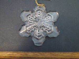 WATERFORD MARQUIS $30 Lead Crystal 2015 Annual Snowflake Christmas Ornament NIB