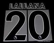 Liverpool Lallana Premier League Football Shirt Name Set Sporting ID 2017/18 A