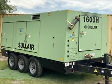 Serviced 2006 Sullair 1600Haf Portable Diesel Air Compressor S# 200609240001