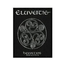 Eluveitie Helvetios Patch Album Cover Folk Metal Music Woven Sew On Applique