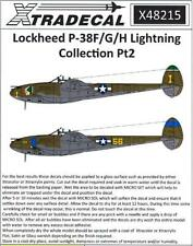 Xtra Decals 1/48 Lockheed P-38 F/G/H Lighting Collection Part 2