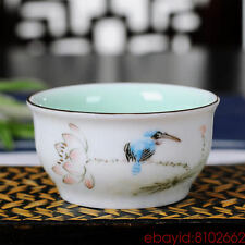 MyEMPORIUM- Longquan Celadon Kung Fu Tea Cups- China Ceramic Jingdezhen Teacup