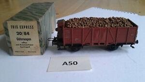 A50e Trix Express 20/84 H0 DB offener GW mit Bremserhaus - gebraucht