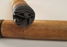 "3/4"" Graphite Eye of Ra Stamp"