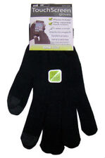 Mens Touch Screen Gloves Black iPhone Android Smart Phone Winter Magic One Size