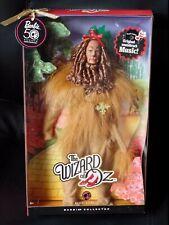 Barbie mattel n6563 Cowardly Lion Wizard of Oz Pink Label Edition León