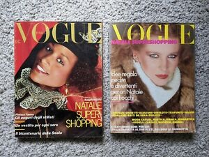 Italian Vogue Magazines 1977