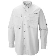 2e1d6130e78 Columbia Long Sleeve Solid 100% Cotton Casual Shirts for Men | eBay