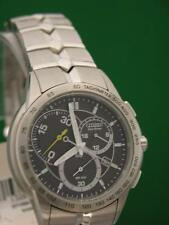 New Men's Citizen Eco-drive Calibre 5700 Stainless Steel Watch At1060-58e 12787