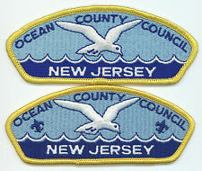 LOT OF 2 CSP'S - OCEAN COUNTY COUNCIL - S-1 & S-2 - MERGED IN 1992