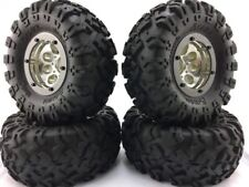 1/10th crawler tire and Rim Truck 2.2 beadlock 1:10 typeAXIAL SCX10/AX10/RC4WD