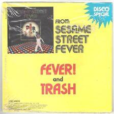 "Sesame Street and Robin Gibb ""Fever/Trash"" 7"" OOP Bee Gee's Sealed"