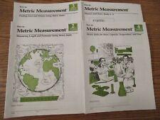 Key to Metric Measurement workbooks 2-4 plus Answer Key